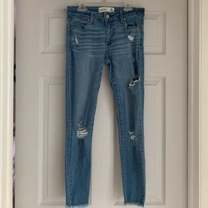 abercrombie and fitch ankle jeans!!!
